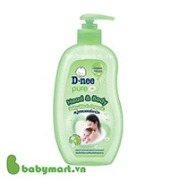 D-nee pure Head & Body Baby Wash 380ml