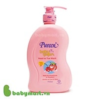 Pureen kids yogurt head to toe wash peach cherry