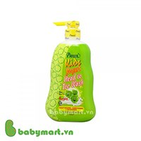 Pureen kids yogurt head to toe wash apple