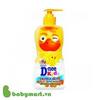 Dnee Kids bubble bath candy floss jelly 400 ml