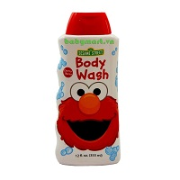 Sữa tắm trẻ em Sesame Street 355ml hương cherry