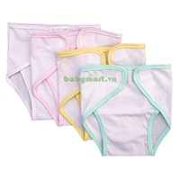 Mintuu Cotton Contour Nappies number no 3 set 5