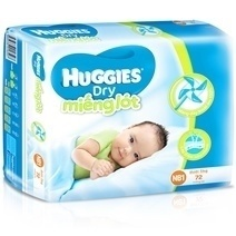 Huggies Newborn 1 Diaper (72pcs)