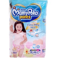 Mamy Poko Pant Diaper XL46 (Girl)