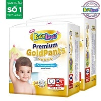 Diapers Goldpants XL46 (12-17kg)
