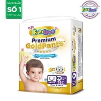 Diaper pants Goldpants XXL38 (15-20kg)