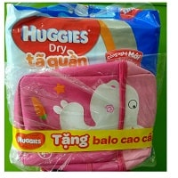 Huggies Pant Diaper M74 Give backpack