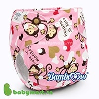 Bambi Mio nighttime cloth diaper size M