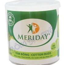 Meriday Larger Cotton Sticks - 200 sticks