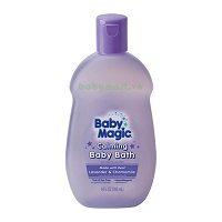 Baby Magic Hair and Body Wash Lavender 266ML