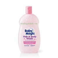 Baby Magic Hair and Body Wash Original 266ML