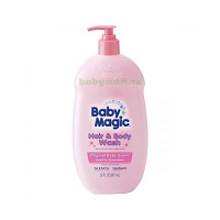 Baby Magic Hair and Body Wash Original 887ML