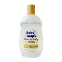 Baby Magic Hair and Body Wash Soft Powder 266ML