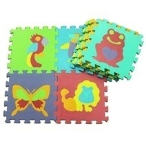 Soft Foam Play Mat Puzzle Jigsaw With Animals (10pcs)