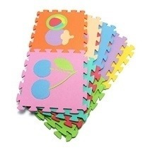 Soft Foam Play Mat Puzzle Jigsaw With Fruit (10 pcs)