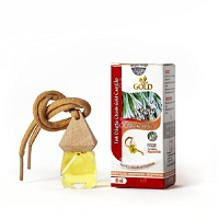 Gold West Indian Lemongrass oil 10ml (hanging car)