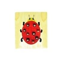 Wooden Animal Puzzle With Dowel