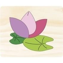 Vietoys Wooden Flowers Puzzle