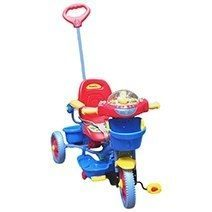 Family 3-wheel Baby Toy Vehicle With Lounge Chair