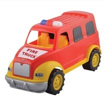 Tombul fire truck toy