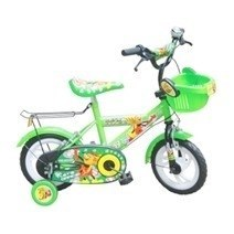 Green Mouse Kid's Bike 12 Inch