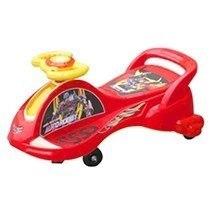 Xe lắc xe hơi/siêu nhân không nhạc cho bé