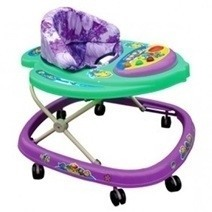 Baby Walker With Music - Butterfly/Fish/Frog